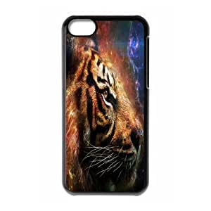 MMZ DIY PHONE CASECool Customized Tiger ipod touch 5 Case Cover ,Plastic Hard Back Cases Gift Idea At CBRL007