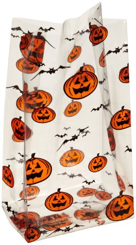 CK Products Halloween Cellophane Bag, Pack of 100