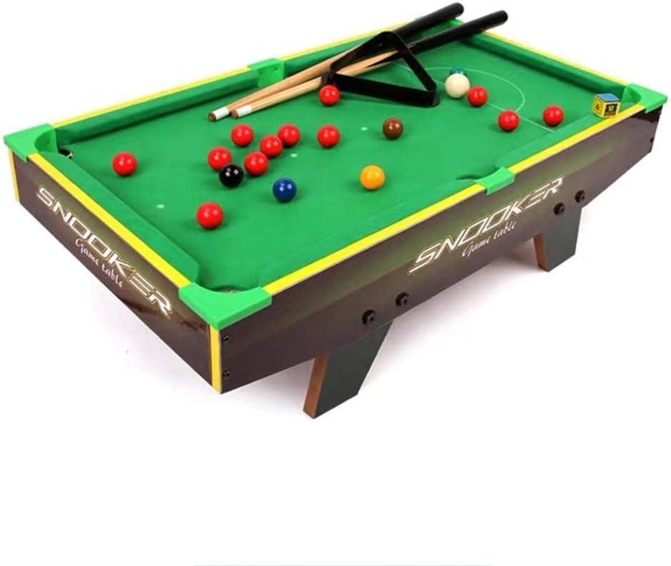 """ゲームボール、スティック、チョーク、ブラシやトライアングル36"""" で子供と大人のためのスヌーカービリヤードプールテーブル (Size : S)"""
