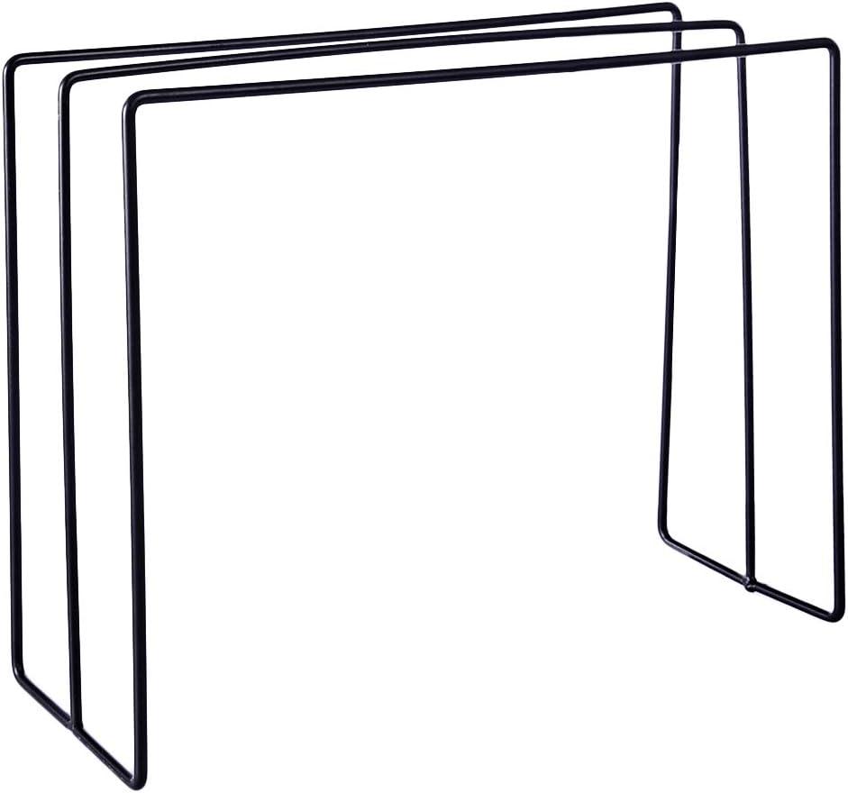 RuiyiF 3-Tier Freestanding Hand Towel Holder Stand Bathroom Metal Kitchen Towel//Rag Rack Sink Storage Organizer Black