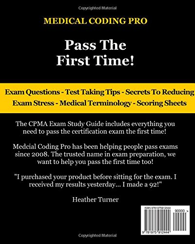 Buy Cpma Exam Study Guide: 150 Certified Professional Medical ...