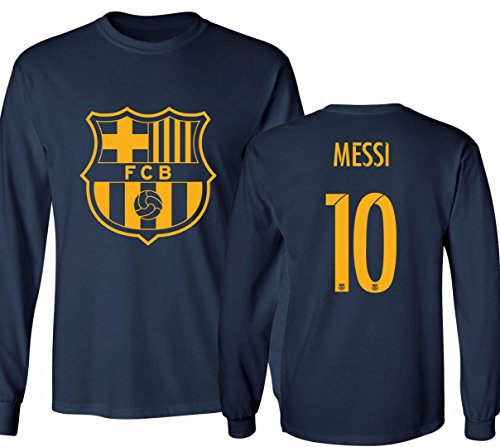 new concept a325e 29a40 Barcelona Soccer Shirt Lionel Messi #10 Futbol Jersey Youth ...