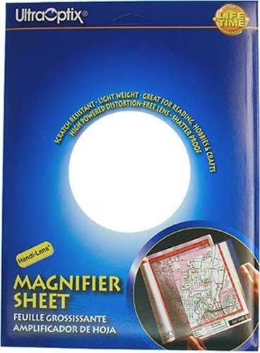 Ultraoptix Handi-Lens Full Page Magnifier