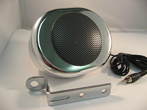 Chrome Waterproof Speaker Brackets Motorcycles