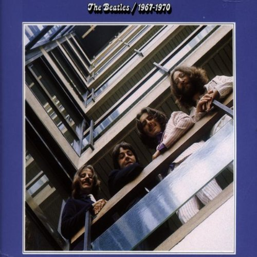 Original album cover of 1967-1970 (The Blue Album) by The Beatles (1993-02-01) by The Beatles