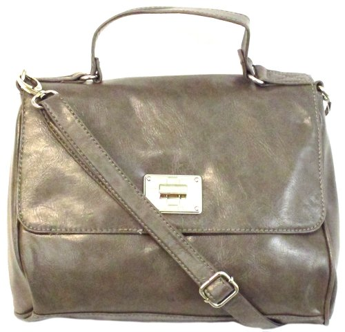 Kenzee Nine Crossbody Large West Grey g5wn6HUqw