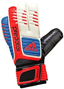 adidas Predator Replique Goalie Glove (White/Bright Blue/Infrared, 4)