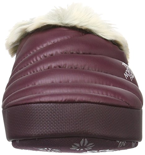 The North Face W Nse Tent Mule Faux Fur Ii, Zuecos para Mujer Multicolor (Shdpgrtrd/Cldgy Nlp)