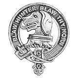 Forrester Scottish Clan Crest Badge ~ Sterling Silver
