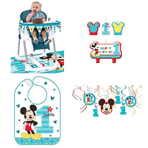 Mouse Birthday Bib - 9