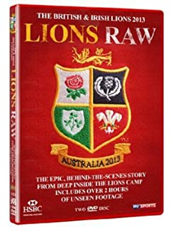 38f76a6a British and Irish Lions 2017: Lions Uncovered DVD: Amazon.co.uk ...
