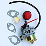 JXPARTS Carburetor Carb For Yard Machines 31A-2M1E752 123CC 21 IN Snow Thrower Blower Snowthrower Snowblower