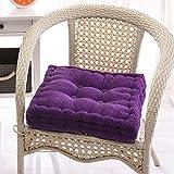 RXIN Soft Cushion Pad for Garden Patio Home Kitchen Office Sofa Chair Cushion Heighten Hip Thickening Chair Seat Cushion