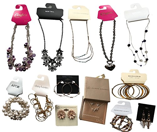 Lot Jewelry - 100 pieces Wholesale Fashion Jewelry lot assorted