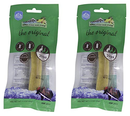 Himalayan Dog Chew 100 Percent Natural Dog Treat for Dogs Under 35 lbs - 2 ()