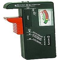 homiki - Testeur de Pile/Batterie / Checker Portatif Universel Efficace Numérique Digital pour AA/AAA/C/D/pile bouton/piles 9V