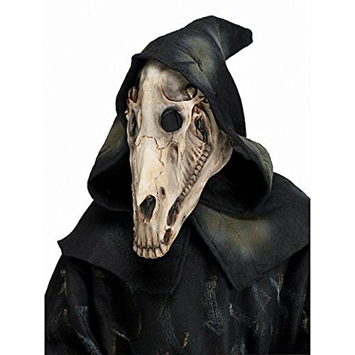 Costume Beautiful Hooded Horse Skull Mask