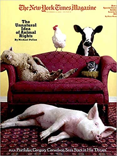 the new york times magazine november 10 2002 the unnatural idea of animal rights