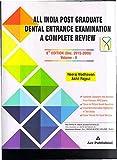 ALL INDIA POST GRADUATE DENTAL ENTRANCE EXAMINATION 6ED (DEC. 2008-2015)VOL. 2