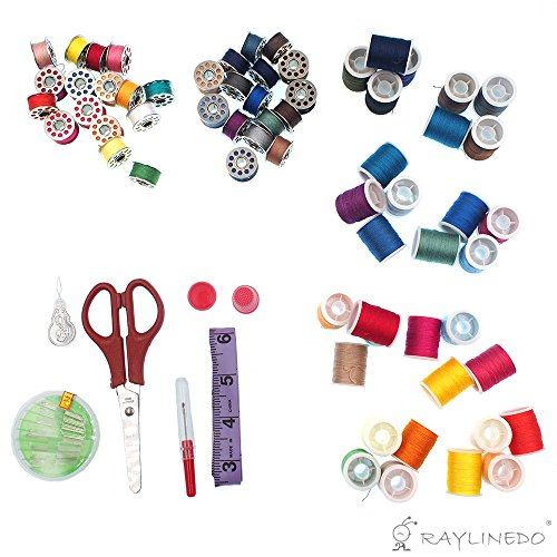 RayLineDo-100-in-1-Needlework-Box-Set-Sewing-Tools-Kit-for-Domestic-Sewing-Machine