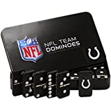 NFL Indianapolis Colts Domino Set in Metal Gift Tin