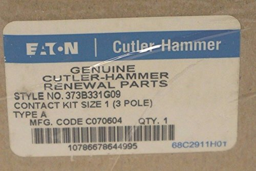 New 373B331G09 3 Pole Size 1 Contact Kit