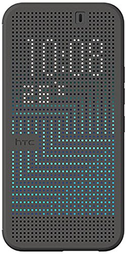 (HTC Dot View II Case for HTC One M9 - Retail Packaging - Black)