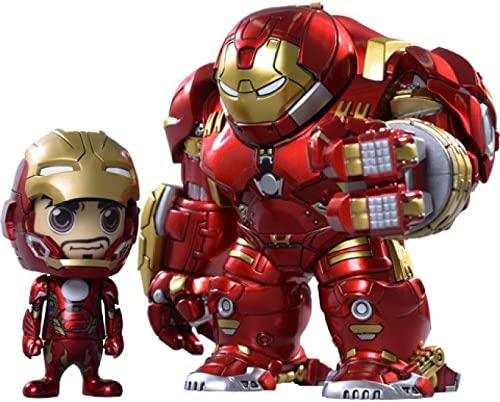 Avengers Age of Ultron 6 Inch Action Action Cosbaby Series 2.5 - Hulkbuster & Iron Man Mark XLV