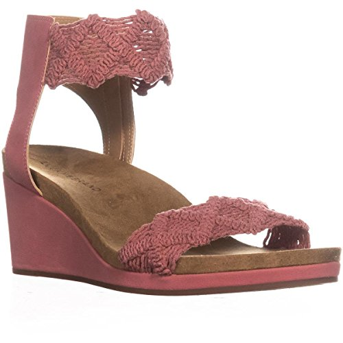 Canyon Strap Lucky Ankle Sandals Wedge Kierlo Rose Brand qYYtS