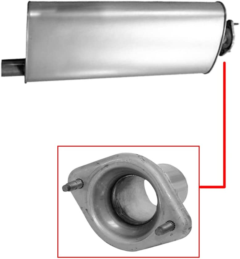 Exhaust Muffler Fits 2002-2006 Jeep Liberty