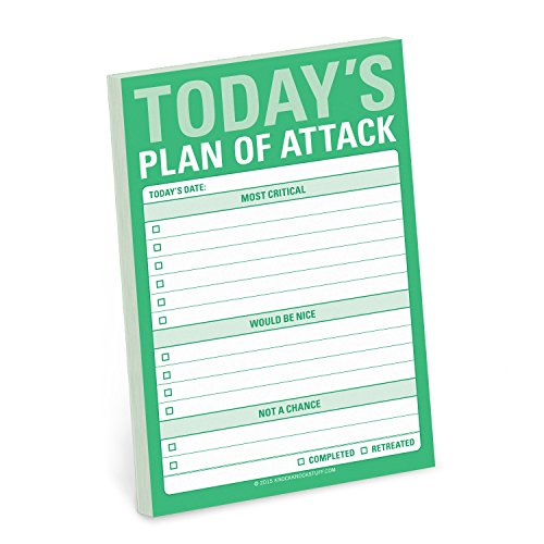 Price comparison product image Knock Knock Today's Plan of Attack Great Big Stickies
