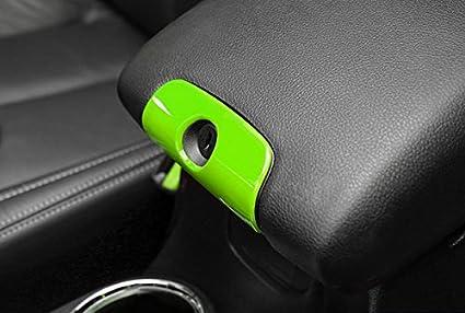 Yellow for Jeep Wrangler JK JKU 2011-2018 4-Door Copilot Handle Cover Trim E-cowlboy 18 PCS Full Set Interior Decoration Trim Kit,Interior Door Handle Cover Trim,Air Conditioning Vent Cover Trim
