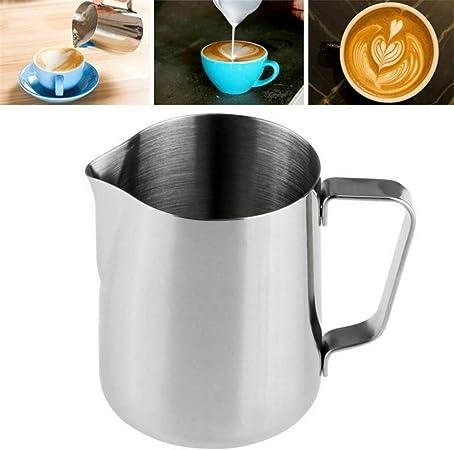 Milopon Barista Milk Frothing Jug Creamer Milk Jug Milk Pitcher Stainless Steel Frother Creamer Jug 200ml