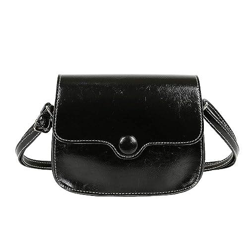 369c8dfd3437 Amazon.com: Rakkiss Womens Crossbody Bag Fashion Solid Shoulder Bags ...