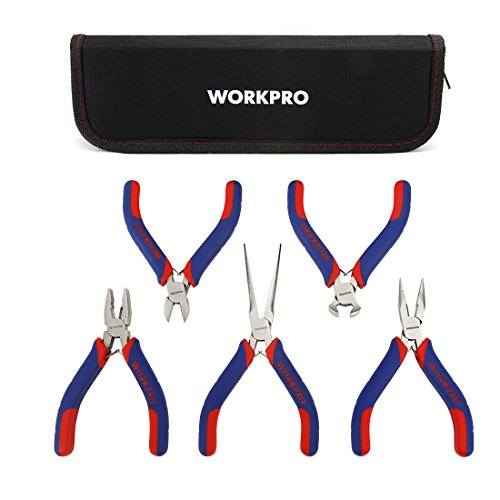 WORKPRO Mini Precision Pliers 5 Piece product image