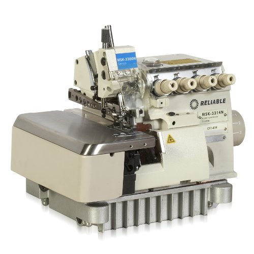 Reliable MSK-3314N-CF70-40H/SS 3/4-Thread Mock-Stitch High-Speed Serging Machine with Semi-Submerged Table and SewQuiet Servo Motor by Reliable