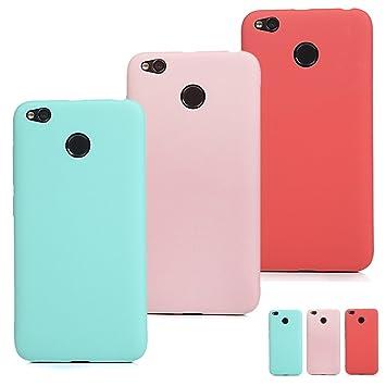SUPWALL 3 Unidades Funda Silicona para Xiaomi Redmi 4X, Flexible Cascara Ultrafina Suave, Case Anti-Rasguño y Resistente Huellas, Premium Gel TPU ...