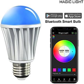 Magiclight Bluetooth Smart Light Bulb 60w Equivalent