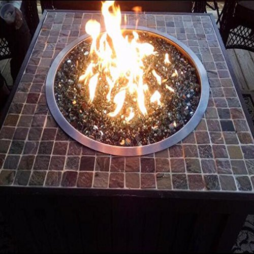 Stanbroil Stainless Steel Round Drop-In Fire Pit Burner Ring Pan, 13-Inch by Stanbroil (Image #5)