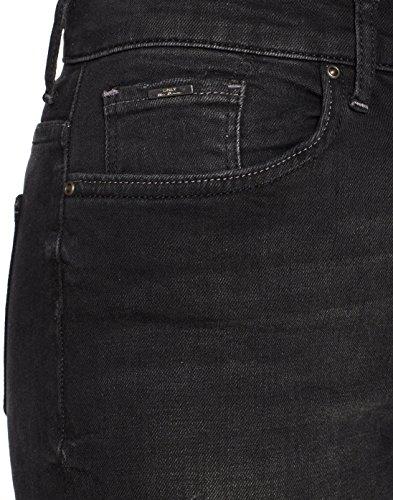 Only Donna Denim Slim Jeans Nos Nero black r6Y8r