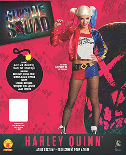 Haloween Squad Deluxe Harley Quinn Costume