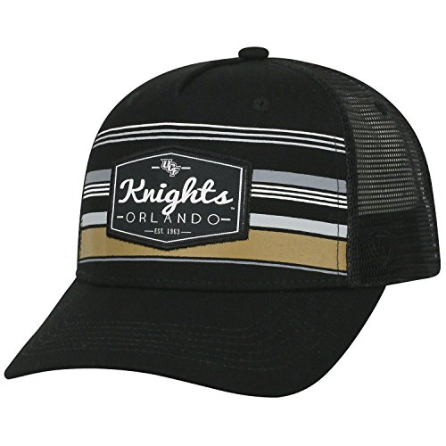 Central Golf Gear Florida - Top of the World Central Florida Knights Official NCAA Adjustable Route Mesh Trucker Hat Cap Curved Bill 391441