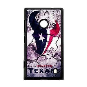 Houston Texans 22 Sports Team Phone Protector Nokia Lumia 520Case Cover Shell (Laser Technology)