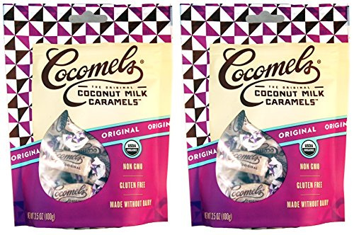 Cocomels Coconut Milk Caramels - Organic, Kosher, NON-GMO, Vegan - Made Without Dairy - Original 2 Pack
