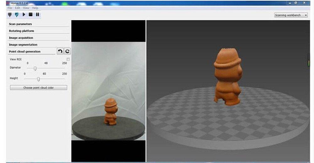 Amazon.com: Ciclop lasing escáner 3d Kit Reprap 3d bricolaje ...