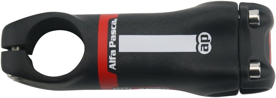 Alfa Pasca Potence Guidon Velo Potence Carbone Velo V/élo Stem Carbon Route VTT 6//17 Degr/é 3K Rouge Mat 31.8 70//80//90//100//110//120//130mm