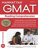 GMAT Strategy Guide, 5th Edition: Reading Comprehension, Guide 7 Front Cover