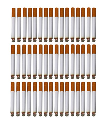 SNInc. Fake Puff Cigarettes Bulk Pack Of 48 Realistic Looking Puff Cigars ()