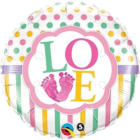 """Qualatex 25746 Foil Balloon, 18"""", Multicolor"""