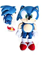"SEGA Sonic the Hedgehog ""Sonic"" Plush Kids Backpack"